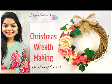 Christmas Wreath making at home