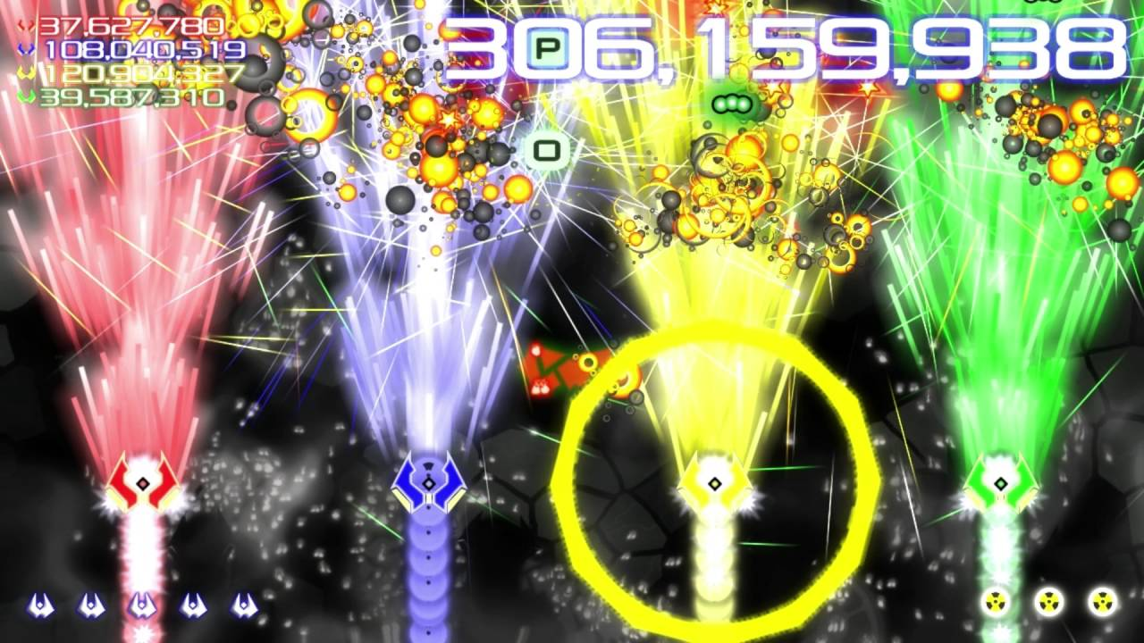 Widescreen bullet-hell shmup Score Rush Extended hits PS4 next week