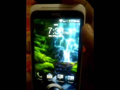 HTC DESIRE XC (T329D) GSM CDMA hands on India