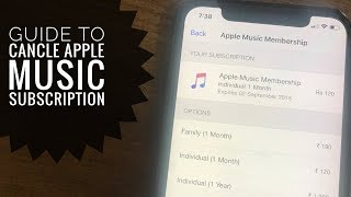 [2021] How to Cancel Apple Music Subscription on iPhone, iPad: iPhone 12 pro Max, 11 Pro, XS, XR