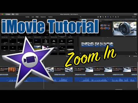 iMovie Tutorial 2016 – How To Zoom In