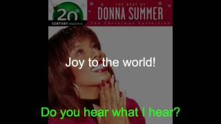 "Donna Summer - Christmas Medley LYRICS - Remastered ""Christmas Spirit"" 1994/2005"