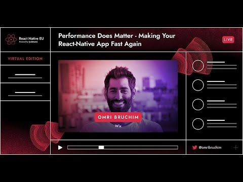 Image thumbnail for talk Performance Does Matter - Making Your React-Native App Fast