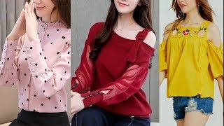 New top design 2019 //Latest jeans top designs