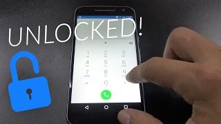 How To Unlock Motorola Moto G4 - In 5 minutes!