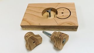How To Make Star Knobs With The Knob Jig