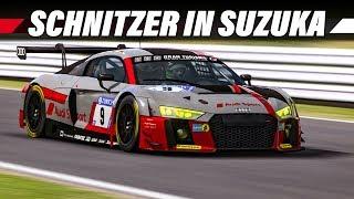 RaceRoom Racing Experience | Audi R8 GT3 in Suzuka | SRS Gameplay German | Let