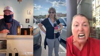 Insane Karen Has A Fit In A Restaurant