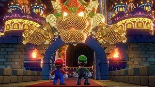 Super Mario 3D World - Final Boss + Ending (2 Players)