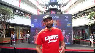 Видео приглашение Самсона Аракеляна на FIBA CABA Quest Stop 3x3