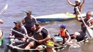 preview picture of video 'travesia rio san salvador 2013  llegada a dolores'