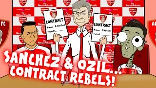 442oons - OZIL & SANCHEZ - contract REBELS!