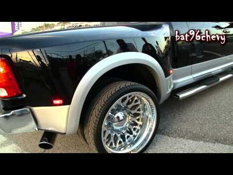 "2014 Dodge Ram 3500 Dually Truck on 26"" Dually Wheels - 1080p HD"