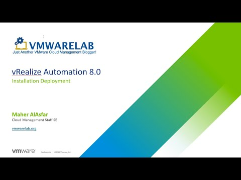 Part 1: vRealize Automation 8 Deployment with vRealize Easy ...