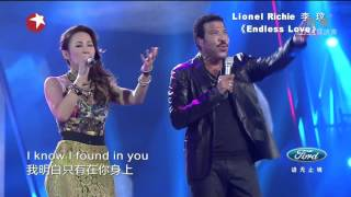 Chinese Idol Finale - Lionel Richie & 李玟CoCo Lee《Endless Love》