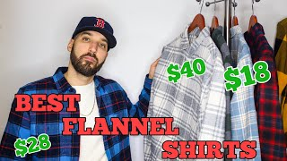 THE BEST FLANNEL SHIRTS YOU CAN BUY RIGHT NOW - AFFORDABLE FLANNELS!