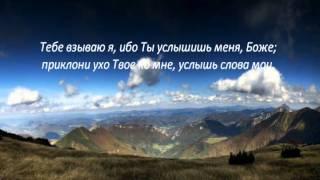 Слово Божье - Псалом 16 Ты испытал сердце мое!