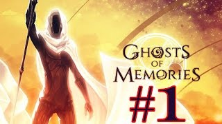 Ghosts of Memories - Lvl 1 to 3 - iOS / Android Walkthrough Video - PART 1