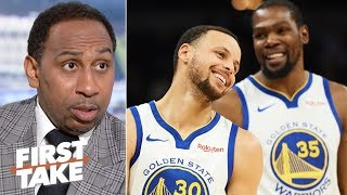 The Warriors' dynasty is over - Stephen A. | First Take