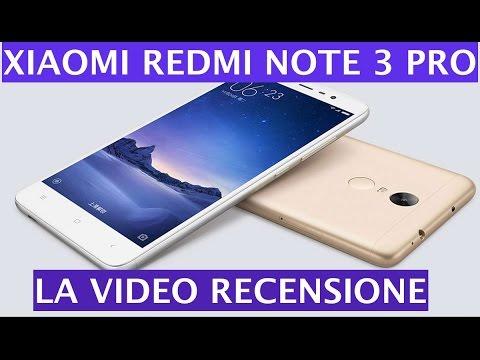 Foto Recensione Xiaomi Redmi Note 3 Pro ITA