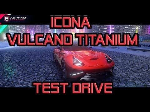 Icona Vulcano Titanium قيادة تجريبي