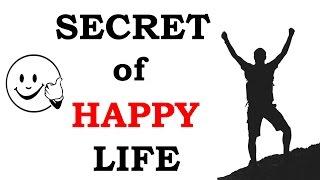 36. SECRET of Happy Life [Hindi - हिन्दी] ✔ STUDY BUDDY CLUB