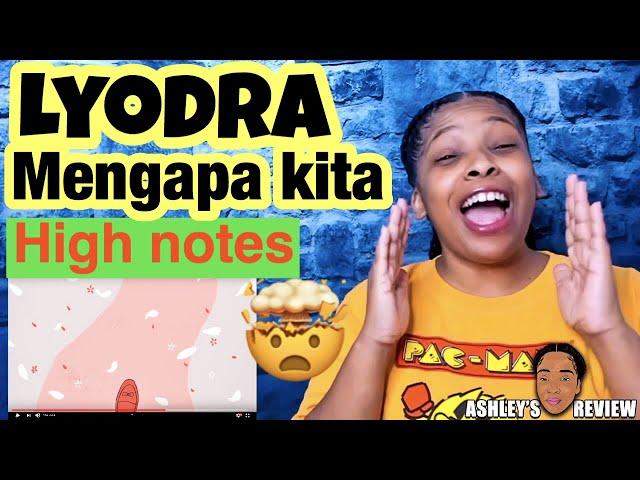 Lyodra Mengapa Kita Terlanjurmencinta Official Lyric Video Reaction