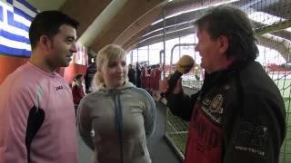 1. Tag Deutsche Hallenfußball-Meisterschaft Der Spielbanken In Hamburg *Kurzinterviews*