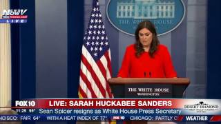 BREAKING: Sean Spicer RESIGNS; Sarah Huckabee Sanders Will Be New Press Secretary (FNN)
