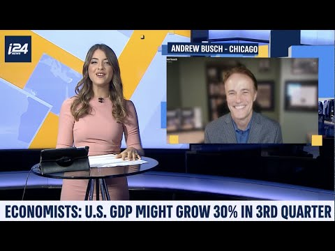 i24News Interview on the US economy, GDP and jobs