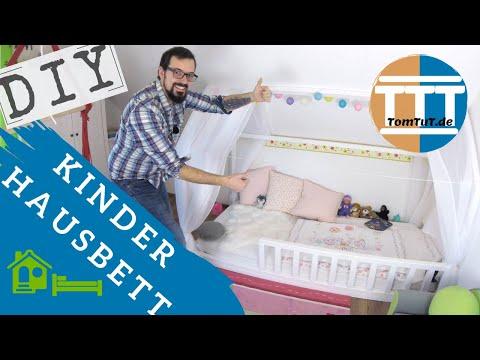 🏠 Hausbett 🛌🏿 für Kinder einfach selber bauen | gabelschereblog.de