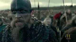 Vikings   The Great Heathen Army Attacks King Aelle's Army [Season 4B Official Scene] (4x18) [HD]