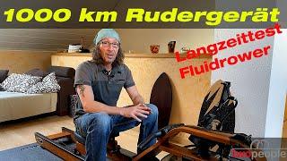Rudergerät – 1000 km Langzeittest - Fluidrower First Deegree Fitness Viking V