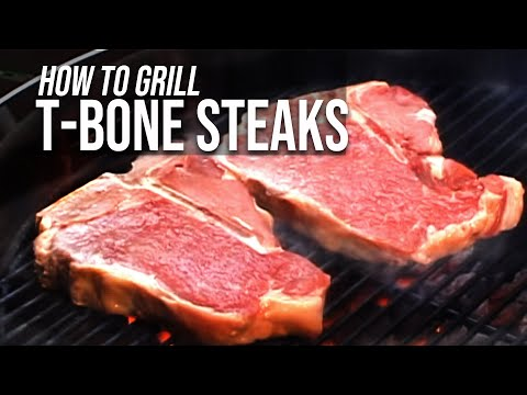 Video Grilled T-Bone Steak Recipe by the BBQ Pit Boys
