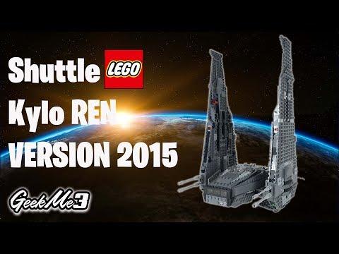 Vidéo LEGO Star Wars 75104 : La navette de commandement de Kylo Ren