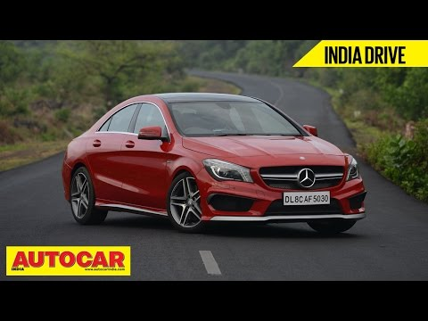 Mercedes-Benz CLA 45 AMG | India Drive Video Review