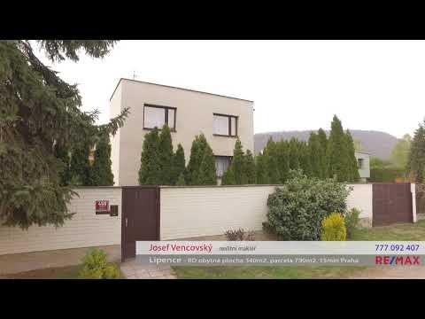 Video Prodej domu v osobním vlastnictví 340 m², Praha 5 - Lipence