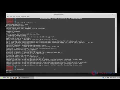 How to install VNC server on Linuxmint 18 3 | LinuxHelp