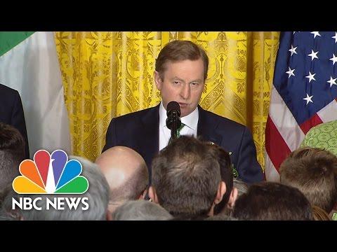 Irish PM Enda Kenny Reminds U.S. St. Patrick 'Was An Immigrant' | NBC News