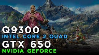 Far Cry 4 (2014) Gameplay GeForce GTX650 - Intel Core 2 Quad Q9300 - 4GB RAM
