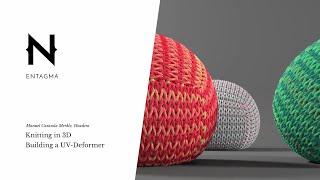 Knitting in 3d: Building a UV Deformer