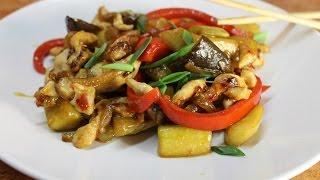 Курица Вок с овощами ВКУСНЫЙ РЕЦЕПТ Wok