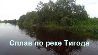 Рыбалка на реке тигода ленинградской области