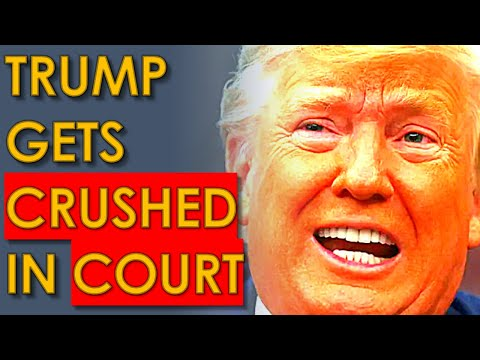 Trump Takes HORRIBLE LOSS in Court