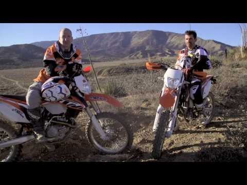 2014 KTM 350 EXC VS. 500 EXC Comparison Video