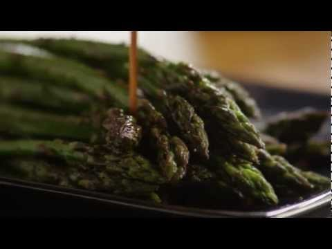 How to Make Baked Asparagus with Balsamic Butter Sauce | Allrecipes.com