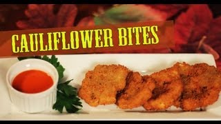 Cauliflower Bites - Cooking with The Vegan Zombie