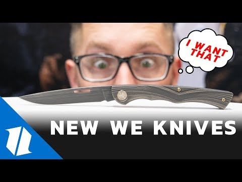 NEW WE Knives | SHOT Show 2019
