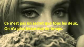 Adele - Hello, Traduction française - Paroles français