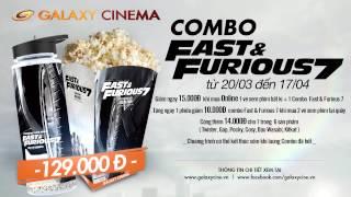 COMBO FAST & FURIOUS 7